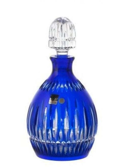 Crystal Bottle Thorn, color blue, volume 700 ml