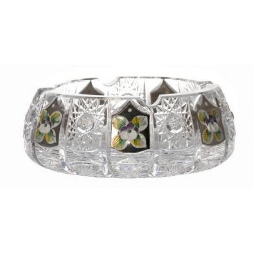 Crystal ashtray 500PK platinum, color clear crystal, diameter 150 mm