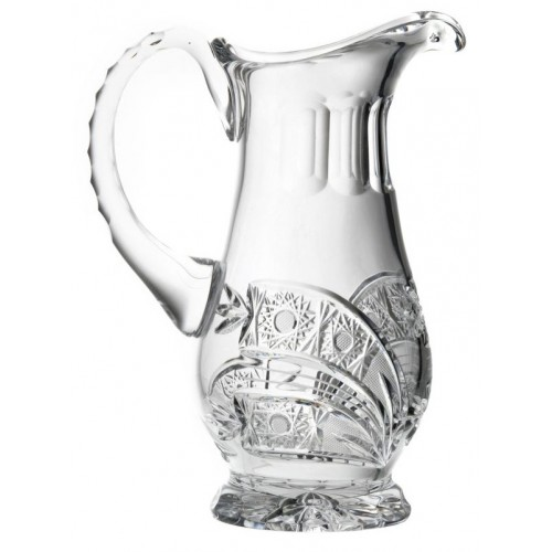 Crystal pitcher Comet, color clear crystal, volume 550 ml