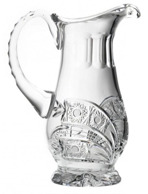 Crystal pitcher Comet, color clear crystal, volume 550 ml