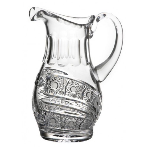 Crystal pitcher Comet, color clear crystal, volume 1250 ml