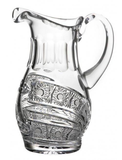 Crystal pitcher Comet, color clear crystal, volume 1250 ml