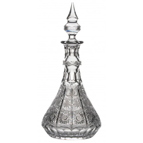 Crystal bottle 500PK, color clear crystal, volume 1300 ml