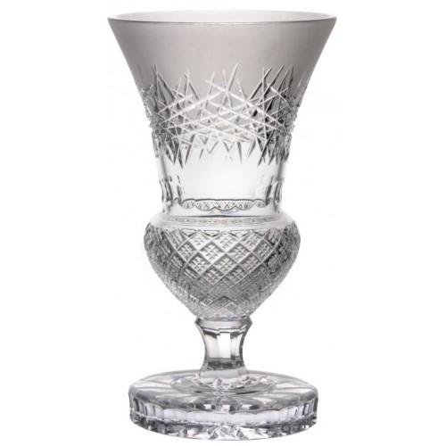 Crystal Vase Jika, color clear crystal, height 410 mm