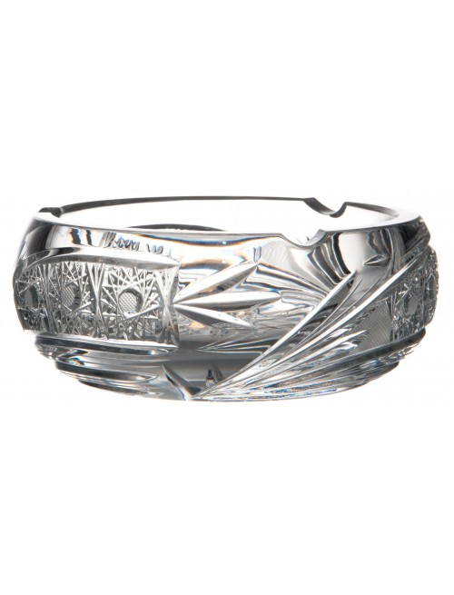 Crystal Ashtray Comet, color clear crystal, diameter 155 mm