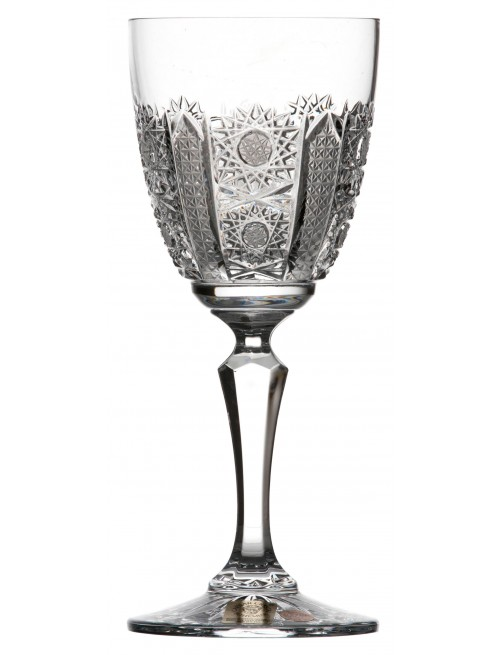 Crystal wine glass Chamberly iris, color clear crystal, volume 170 ml