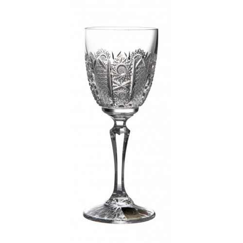 Crystal Wine Glass Chamberly Dessert iris, color clear crystal, volume 140 ml