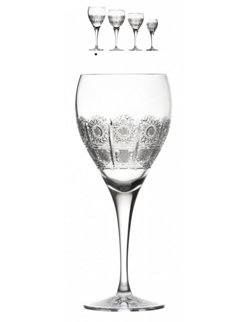 Crystal Wine Glass Fiona, color clear crystal, volume 420 ml