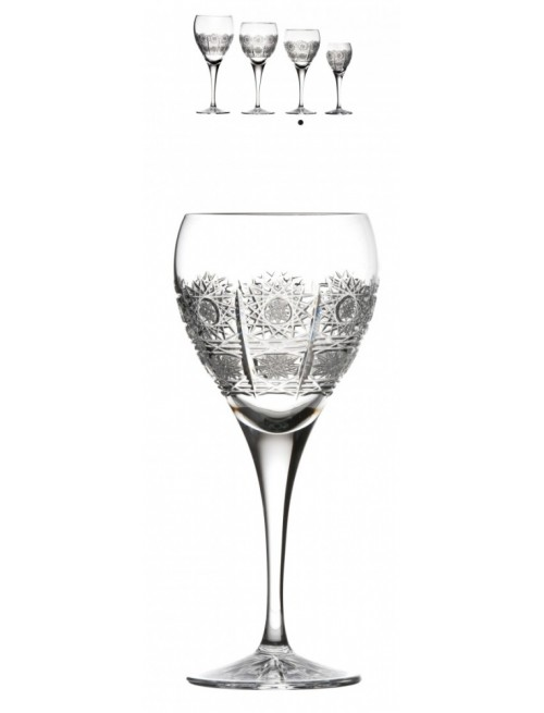 Crystal Wine Glass Fiona, color clear crystal, volume 270 ml