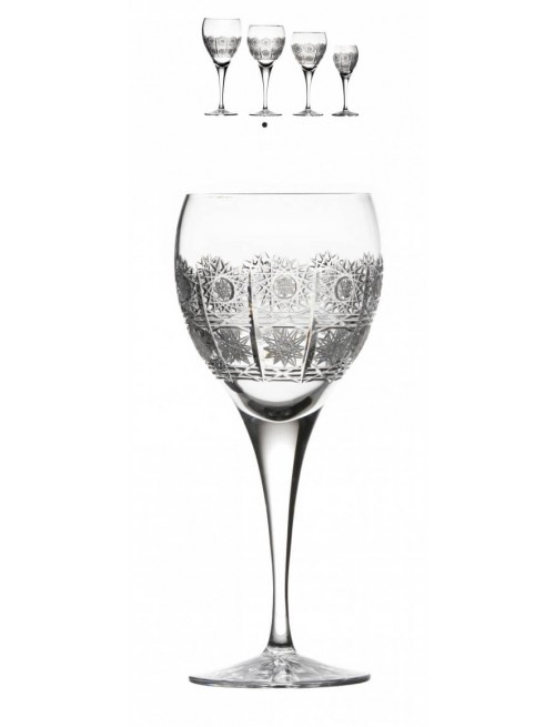 Crystal Wine Glass Fiona, color clear crystal, volume 340 ml