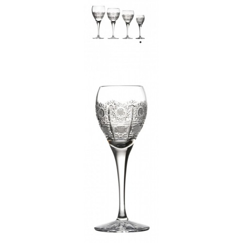 Crystal Shot Glass Fiona 500PK, color clear crystal, volume 90 ml