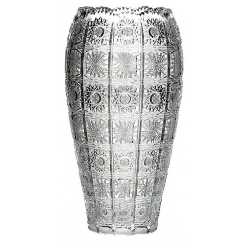 Crystal Vase 500PK, color clear crystal, height 310 mm