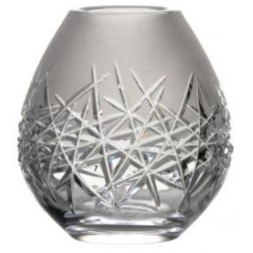 Crystal Vase Hoarfrost, color clear crystal, height 135 mm