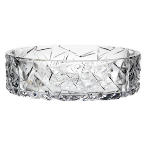 Crystal Bowl Floe, color clear crystal, diameter 195 mm