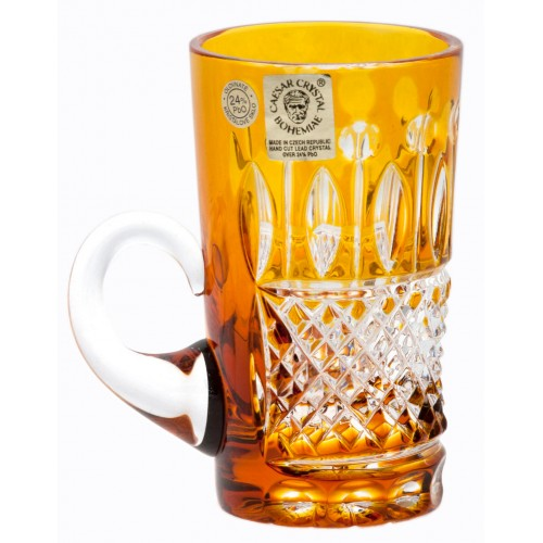 Crystal Cup Tomy, color amber, volume 100 ml
