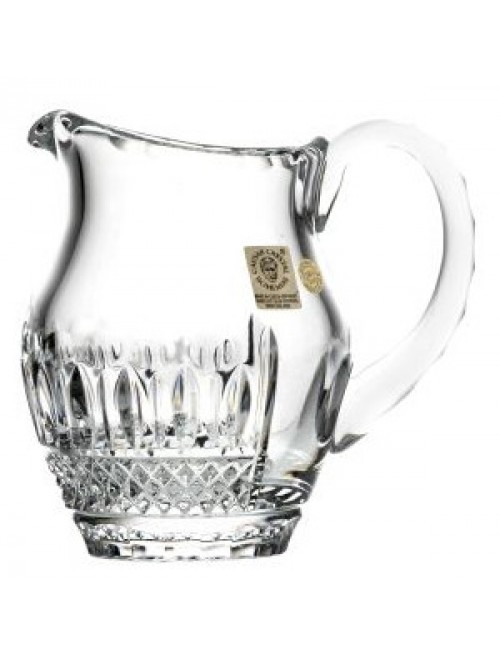 Crystal pitcher Tomy, color clear crystal, volume 220 ml