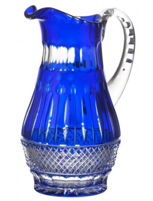 Crystal Pitcher Tomy, color blue, volume 1300 ml