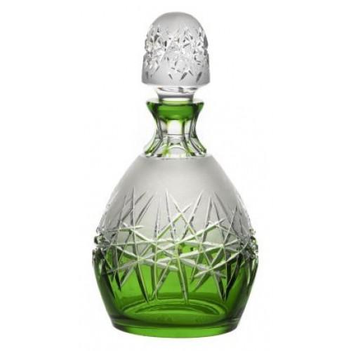 Crystal bottle Hoarfrost, color violet, volume 700 ml