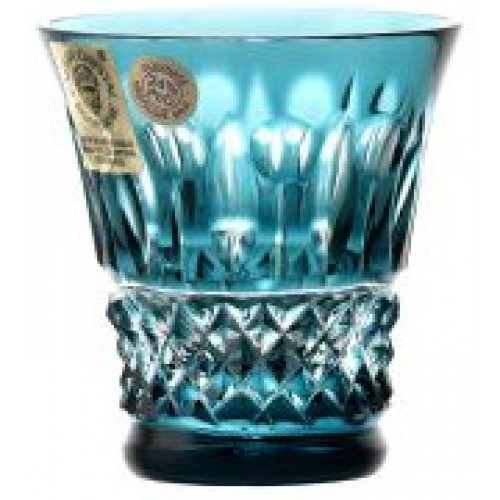 Crystal Shot Glass Tomy, color azure, volume 50 ml
