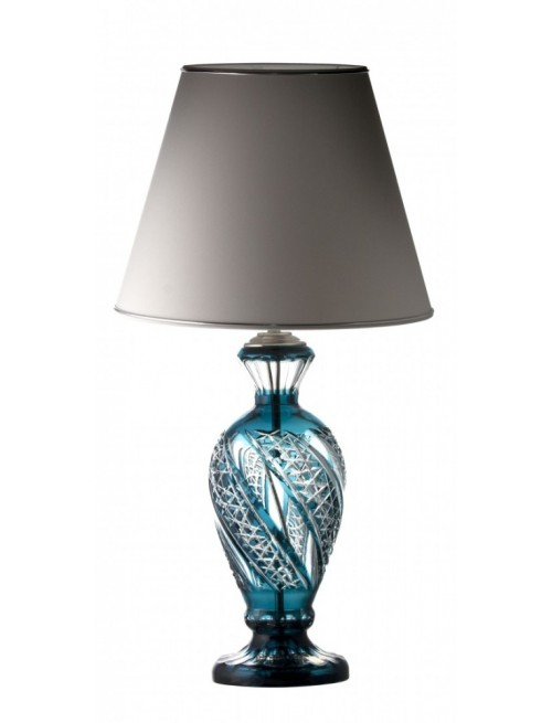 Crystal Lamp Galaxy azure S1, color azure, height 390 mm