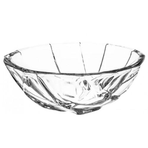 Crystal bowl Crack, color clear crystal, diameter 111 mm
