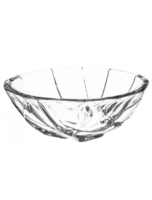 Crystal bowl Crack, color clear crystal, diameter 111 mm