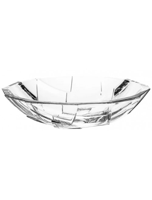 Crystal bowl Crack, color clear crystal, diameter 335 mm