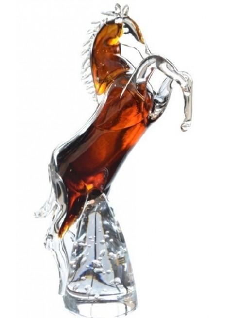 Horse blown glass, height 360 mm