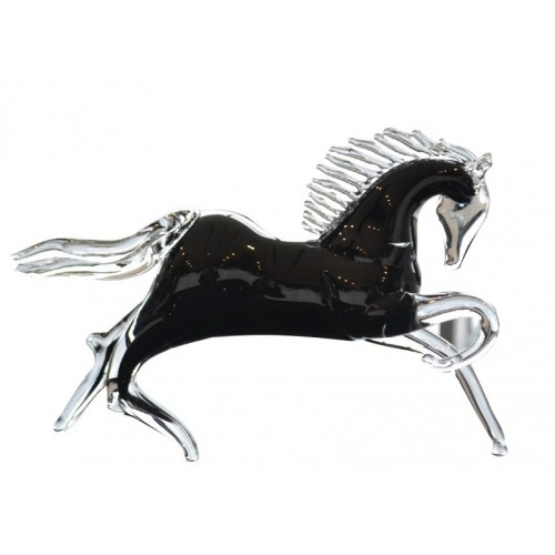 Horse blown glass, size 280 mm