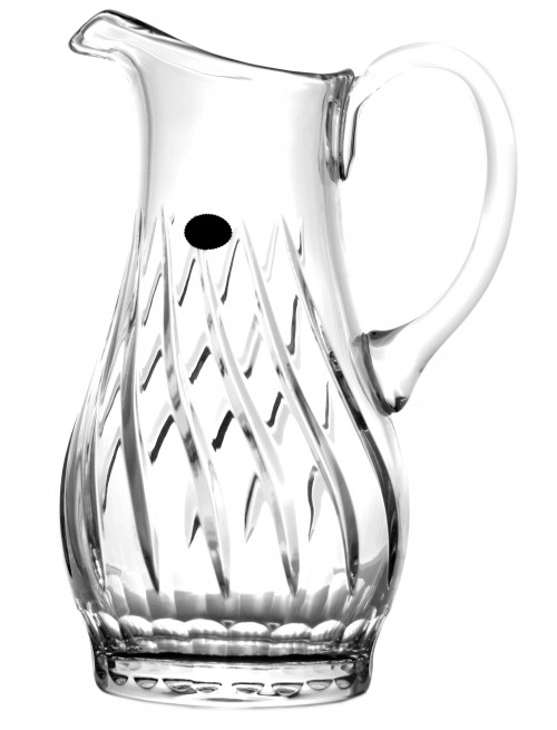 Crystal Pitcher, color clear crystal, volume 1300 ml