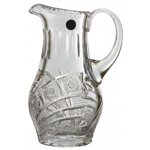 Crystal pitcher Comet, color clear crystal, volume 1200 ml