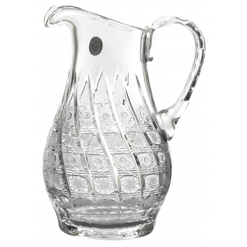 Crystal pitcher 500PK, color clear crystal, volume 1200 ml