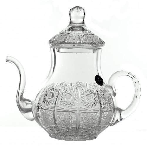 Crystal Teapot 500PK, color clear crystal, volume 1200 ml