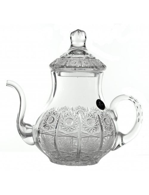 Crystal Teapot 500PK, color clear crystal, volume 1200 ml