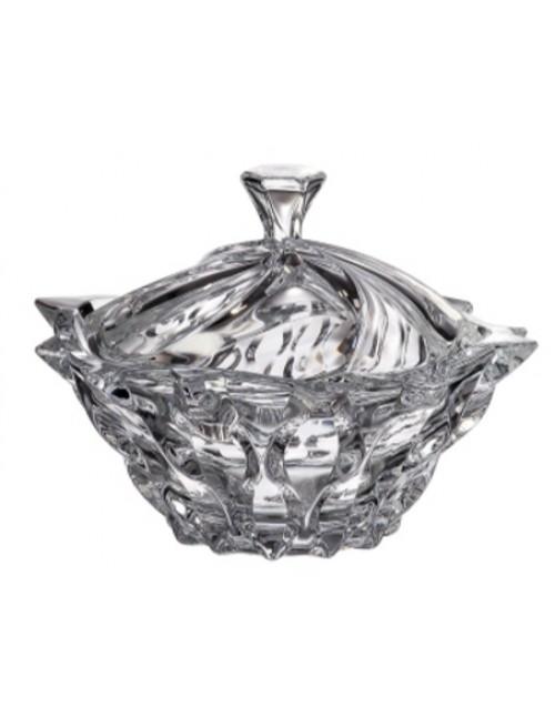 Crystal box Samba, unleaded crystalite, height 210 mm