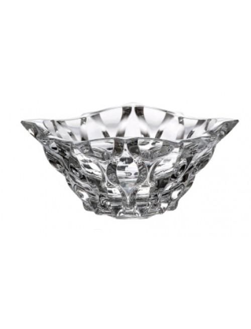 Crystal bowl Samba, unleaded crystalite, diameter 210 mm