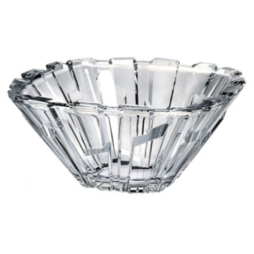 Crystal bowl Bolero, unleaded clear glass, diameter 210 mm