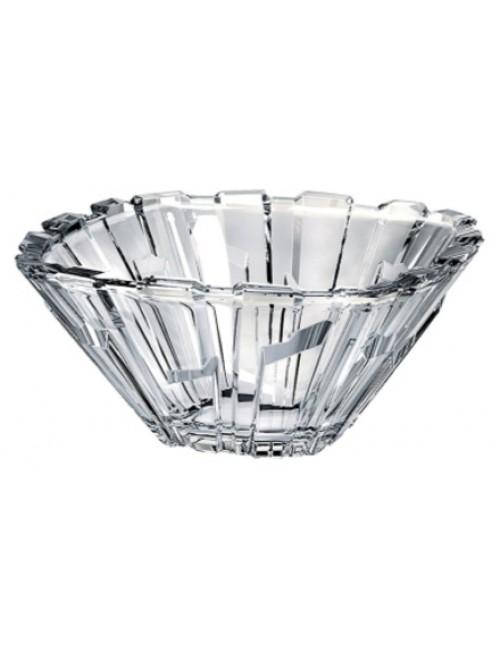 Crystal bowl Bolero, unleaded clear glass, diameter 210 mm