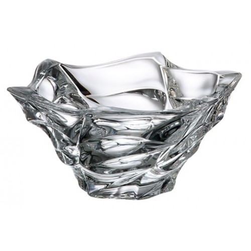 Crystal bowl Flamenco, unleaded crystalite, diameter 205 mm