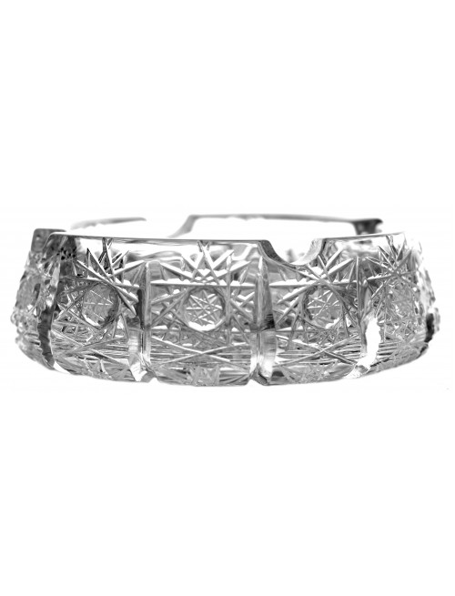 Crystal Ashtray 500PK, color clear crystal, diameter 128 mm
