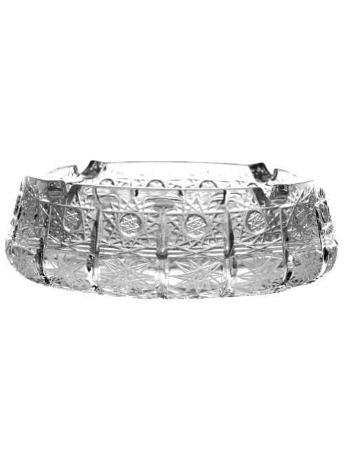 Crystal Ashtray 500PK, color clear crystal, diameter 155 mm