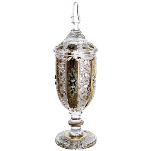 Crystal Cup 500K Gold, color clear crystal, height 450 mm