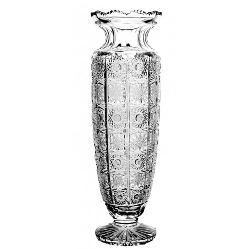 Crystal vase 500PK, color clear crystal, height 255 mm