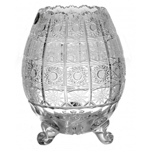 Crystal Vase 500PK III, color clear crystal, height 205 mm