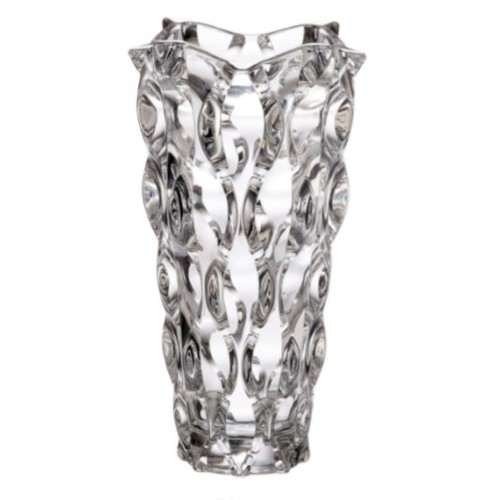 Crystal Vase Samba, unleaded crystalite, height 305 mm