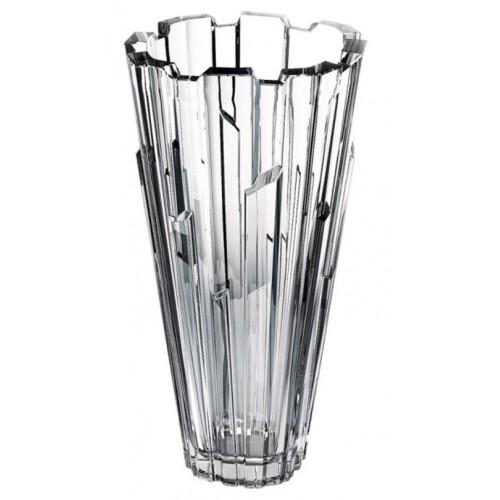 Crystal vase Bolero, unleaded crystalite, height 305 mm