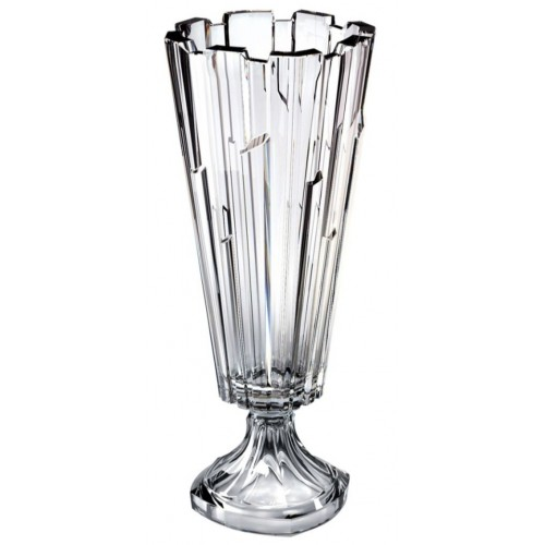 Crystal vase Bolero, unleaded crystalite, height 405 mm