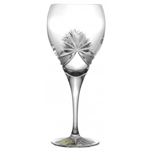 Crystal Wine Glass Ribbon, color clear crystal, volume 420 ml